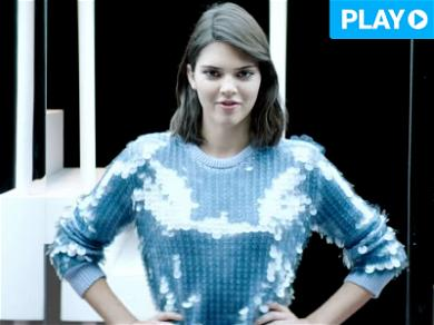 Kendall Jenner Goes French for Fergie … Oh Là Là