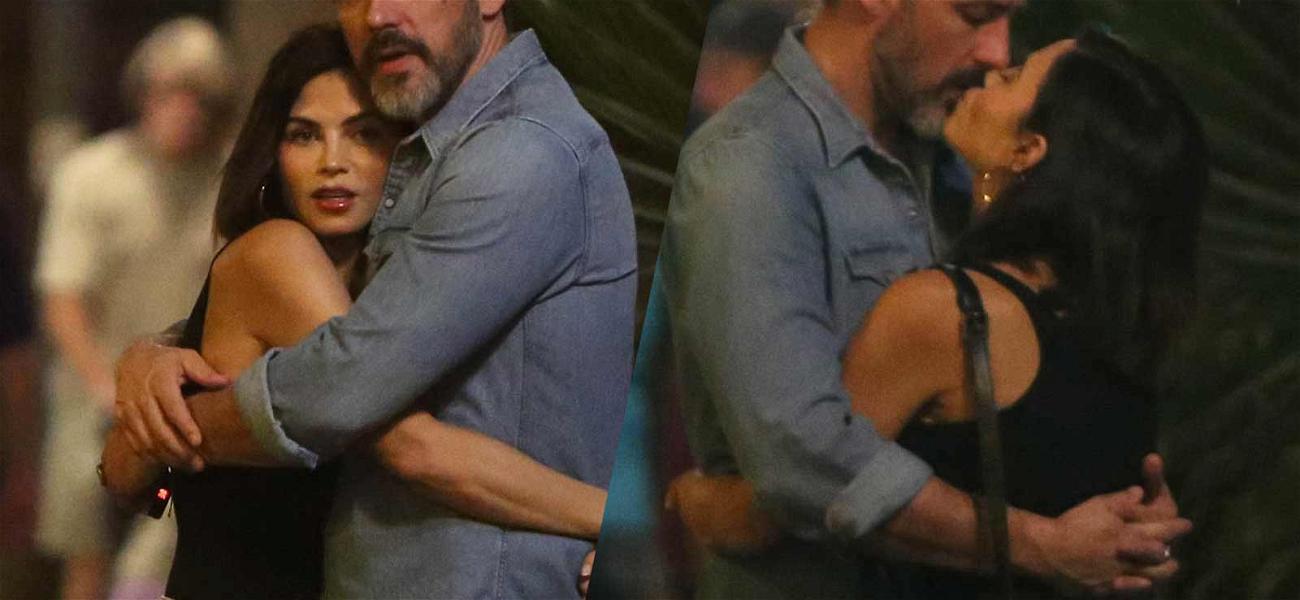 Jenna Dewan Seen Kissing Boyfriend Steve Kazee During Romantic Weekend Getaway