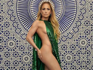 Jennifer Lopez Slays With Barely-There Dress During InStyle Shoot