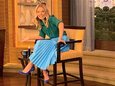 Kelly Ripa Left Solo On Morning Show After Ryan Seacrest Bails