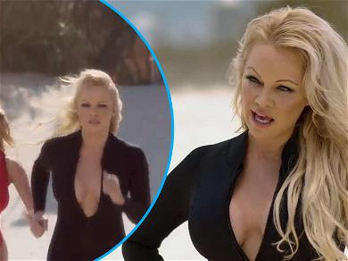 Watch Pamela Anderson Save The Day With Slow-mo 'Baywatch' Run For New Commercial