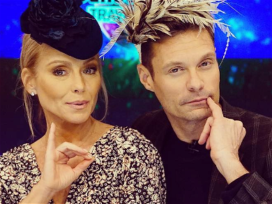 Kelly Ripa's Toothbrush Exploited By Ryan Seacrest's Mouth