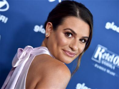 Pregnant Lea Michele Looks Radiant During Beach Day With Husband Zandy Reich