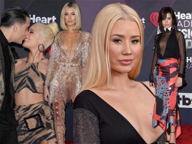 Hailey Baldwin, Halsey and Iggy Azalea Heart Bold Fashion at iHeartRadio Music Awards