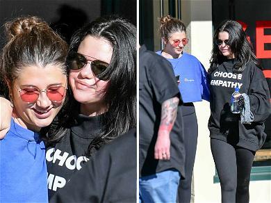 Selena Gomez Sweats Through End of Year Pilates Session