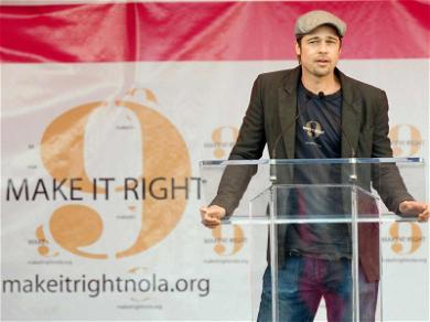 Brad Pitt Personally Working to Fix Issues With New Orleans Homes
