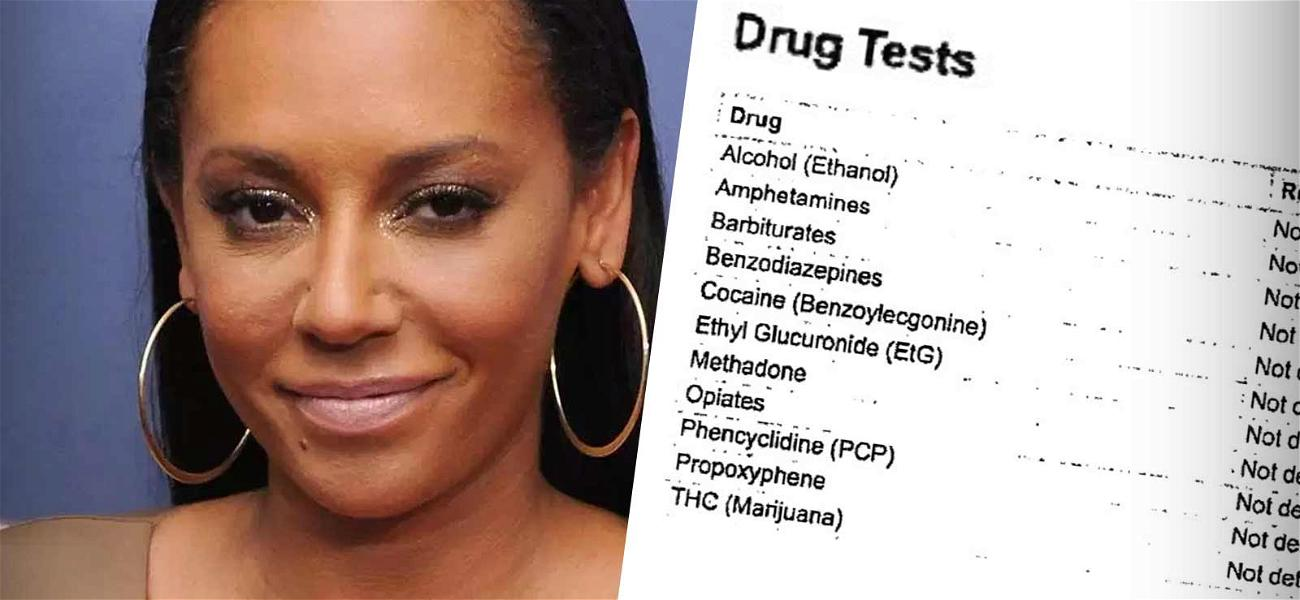 Mel B Delivers Clean Test for Alcohol & Drugs During Custody Battle