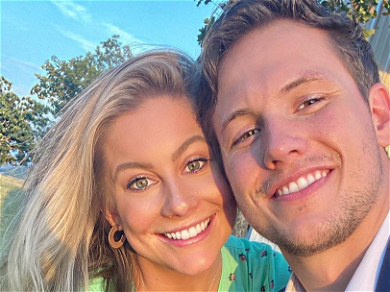 Gymnast Shawn Johnson Shoots Daggers at Hubby for Interruption