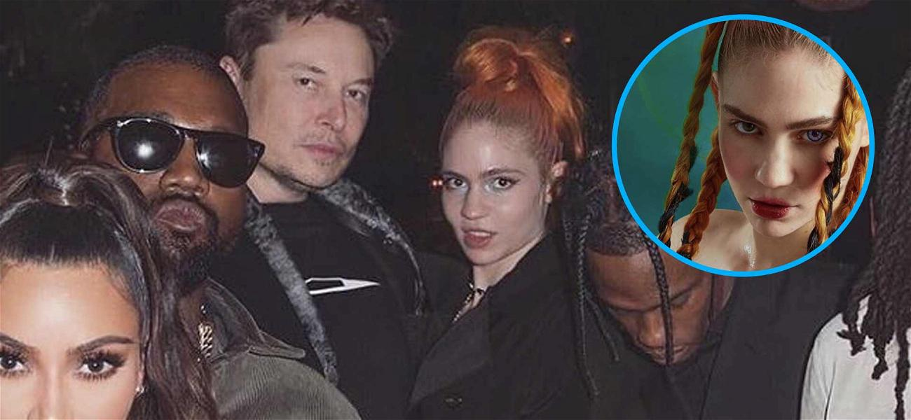 Elon Musk's Girlfriend, Grimes, Shares Graphic 'Pregnancy' Pic on Instagram