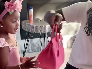 Cardi B CLAPS Back At Haters Over Daughter's $9,000 Purse — 'She's Gonna Match Mommy!!'