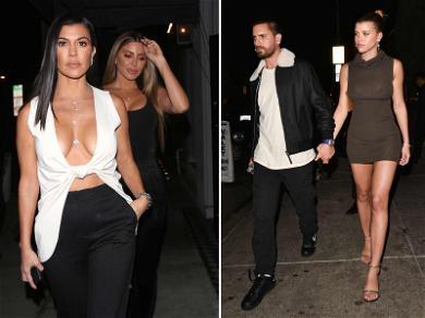 Kourtney Kardashian Has Date Night With Scott Disick & Sofia Richie