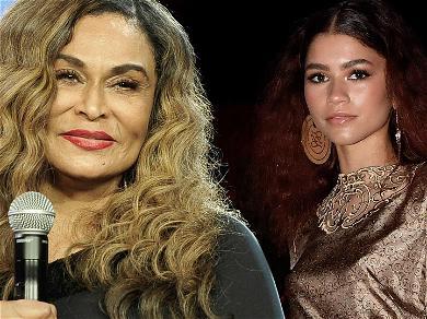 'Euphoria' Star Zendaya Praised By Beyoncé's Mom Tina Knowles
