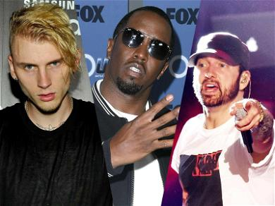 Machine Gun Kelly Drops Eminem Diss Track, Claims Diddy Asked Him to Apologize for a Tweet