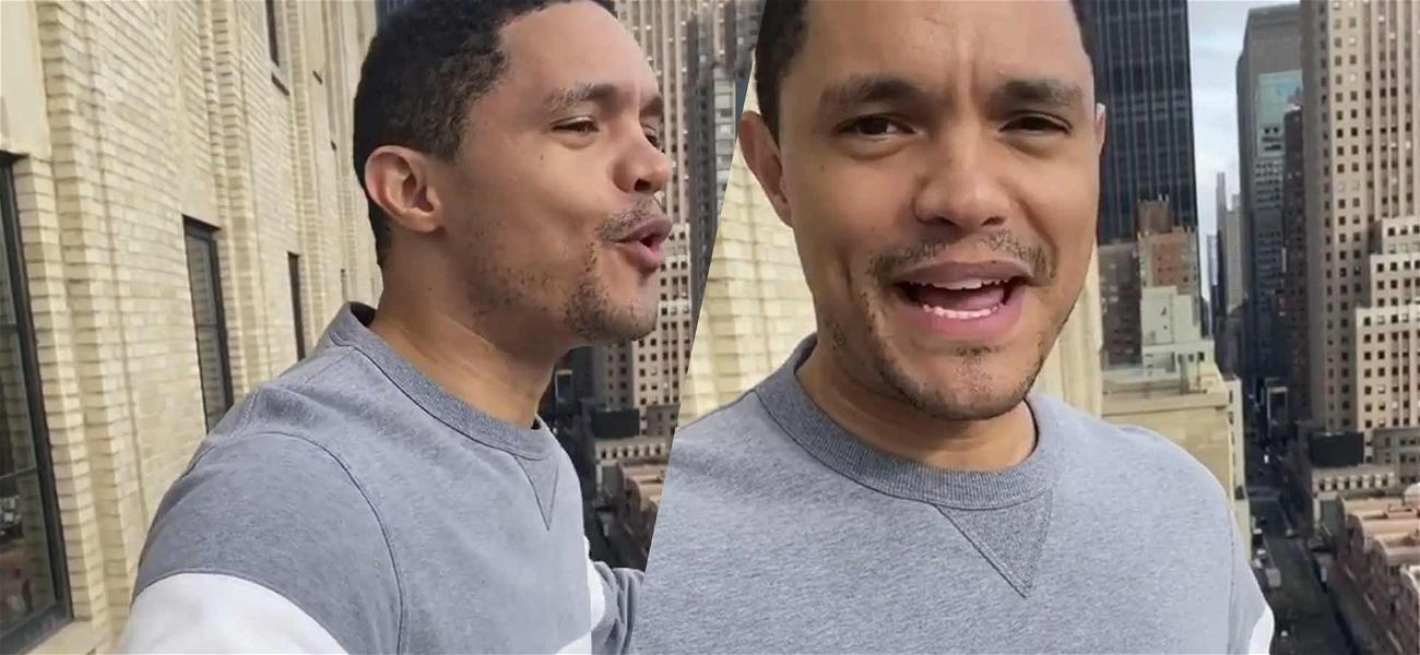 New Yorkers Tell Trevor Noah To 'Shut The F Up' When He Sings Disney Song From His Balcony