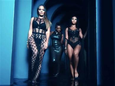 Nicki Minaj Handpicked 'Basketball Wives' Star Evelyn Lozada & Daughter for 'Good Form' Video