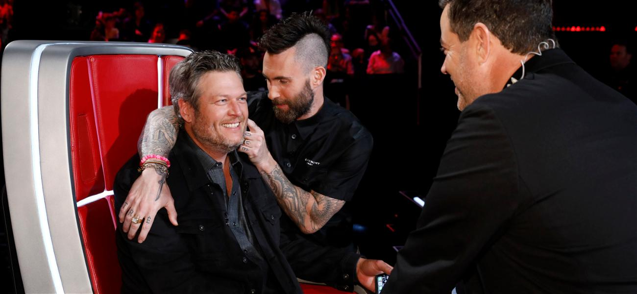 Blake Shelton Say He 'Couldn't Be Happier' About Adam Levine Leaving 'The Voice'