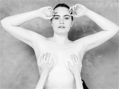 'You' Star Kathryn Gallagher Goes Topless for Shoot with Tyler Shields