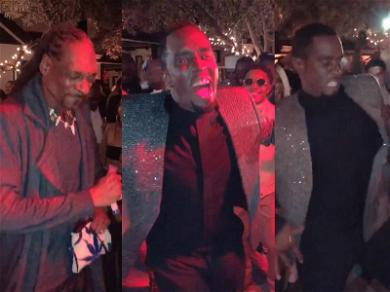 Diddy Throws A-List Birthday Party After Skydiving into Playboy Mansion