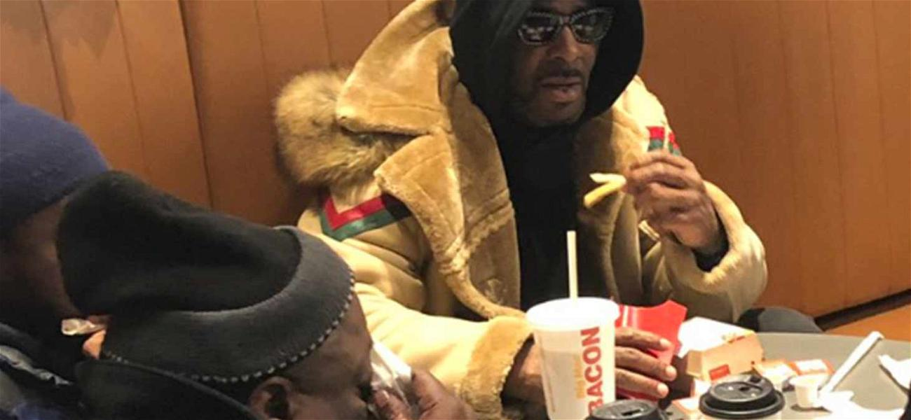 R. Kelly Visits Infamous McDonald's After Getting Released From Jail