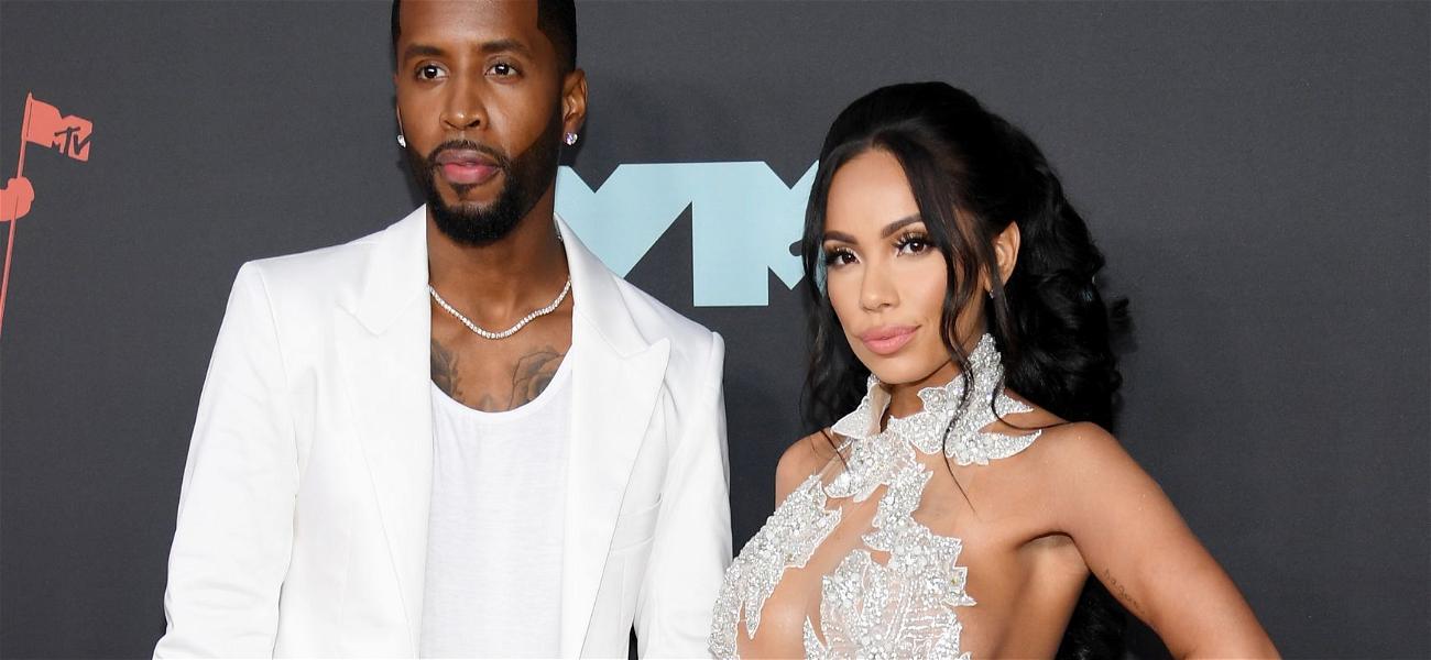 Nicki Minaj's Ex-Boyfriend Safaree's Fiancée Shows Off Her Growing Baby Bump