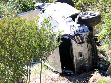 Tiger Woods Didn't Remember Driving In Minutes Following Brutal Car Accident