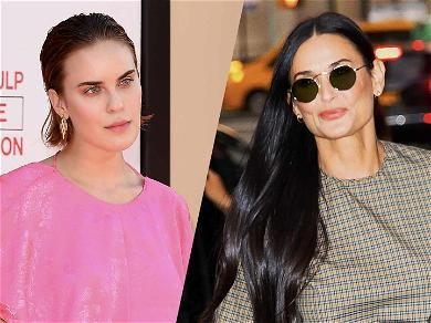 Demi Moore's Daughter Tallulah Willis Honors Her Mother With A 'Haute' Pic