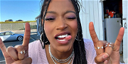 Keke Palmer Is Pretty In Pink While Flaunting Her L.A. Style