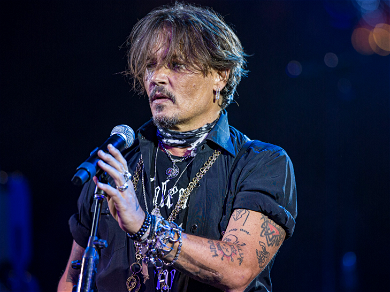 Johnny Depp Performs Bob Dylan Song Paying Tribute To 'Sacrificial Hero' George Floyd