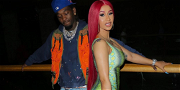 Cardi B & Offset Have FIVE Custom Christmas Trees In Their House!