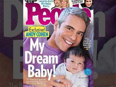 Andy Cohen Reveals Baby Benjamin Allen for First Magazine Cover Shoot