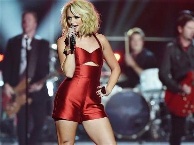 Miranda Lambert Looks Smoking Hot In Skimpy Cowgirl Fringe By A Trailer