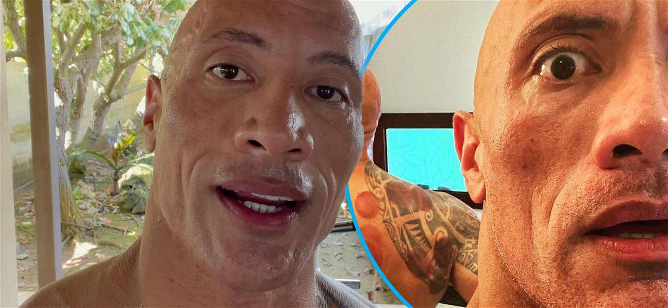 Dwayne 'The Rock' Johnson Is A 'First-Time Cupper,' Shows Off Massive Cup Marks