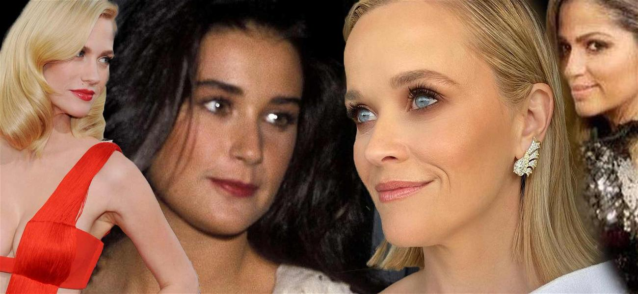 Demi Moore, Reese Witherspoon, And More! Celebs Sharing Past Golden Globes Looks!