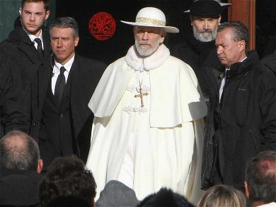 First Set Pics: See Pope John Malkovich in Action for HBO Series 'The New Pope'
