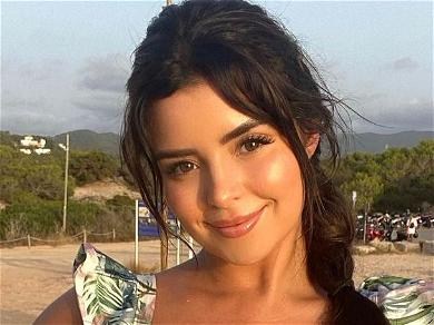 Demi Rose Wears Only Pigtails As Gorgeous Island Girl