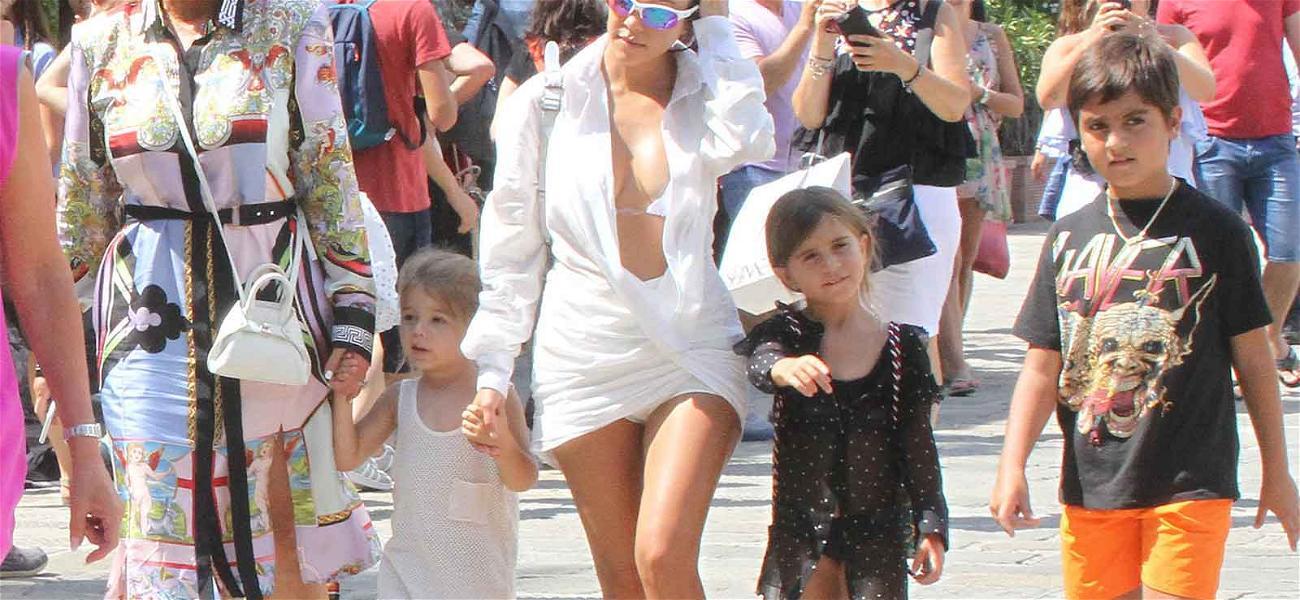 Buongiorno! Madre Kris Jenner Joins Kourtney And the Grandkids On Italian Vacay