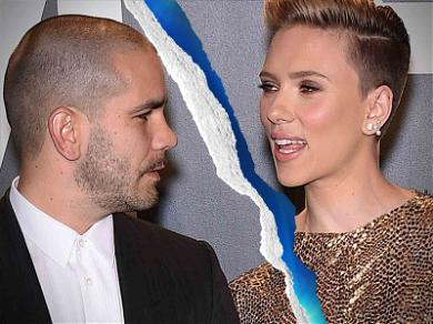 Scarlett Johansson Officially Single, Settles Custody Too