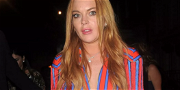 Lindsay Lohan Sparks Fears Over 'Bruised' Legs In Skimpy Yoga Snap