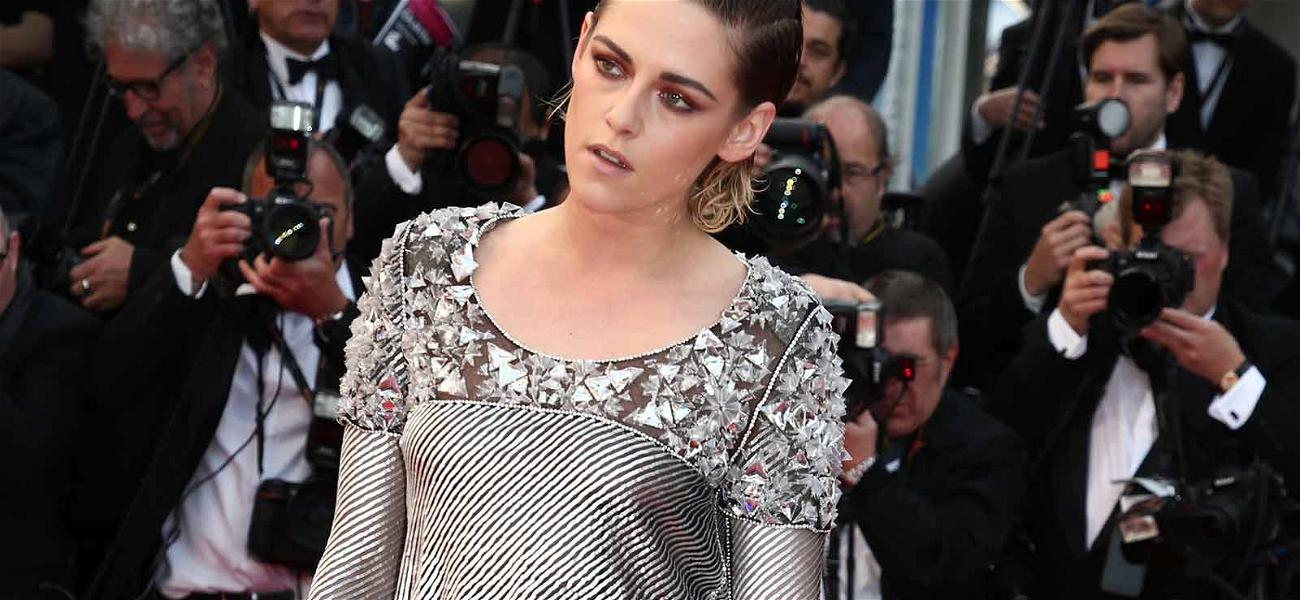 Kristen Stewart Protests Cannes High Heels Rule by Going Barefoot
