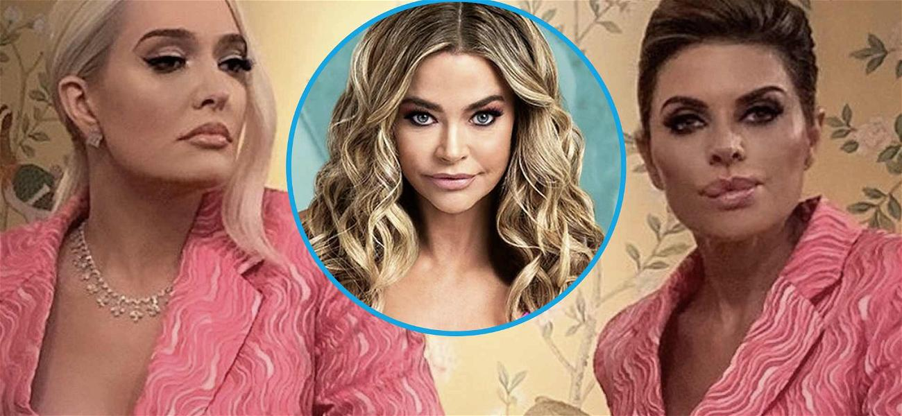 'RHOBH' Stars Erika Jayne & Lisa Rinna Team Up In Pink Amid Denise Richards Drama