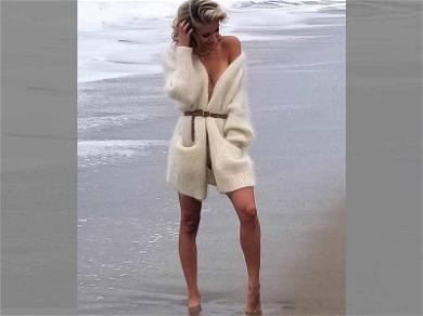 Kristin Cavallari Braves the Nippy Weather in Steamy Sweater Shoot