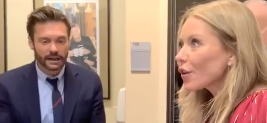 Ryan Seacrest Slighted After Kelly Ripa Gets Amazing Gift Backstage