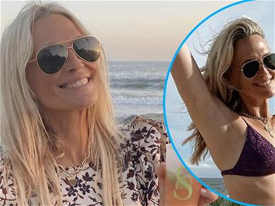 Molly Sims, 47, Stuns In Beachy Bikini Pics For Sports Illustrated Swimsuit Challenge
