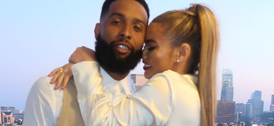 Odell Beckham Jr's Girlfriend Lauren Wood Posts Sexy Snaps After Becoming Instagram Official With NFL Star