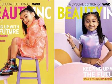 North West's First Cover Shoot Ignites War Over Child Modeling