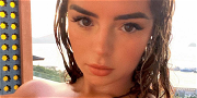 Demi Rose Goes Topless Under An Open Jacket In Ibiza