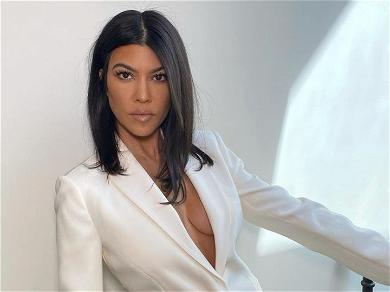 Kourtney Kardashian Teases In 'Last Night's Lingerie Bra On Instagram