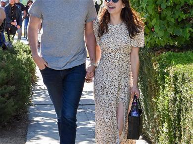Emma Roberts And Garrett Hedlund Take A Stroll In LA Ahead Of One-Year Anniversary