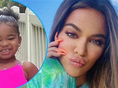 Khloe Kardashian Gushes Over Daughter True's Toothy Grin: 'Mommy's Little Lady'