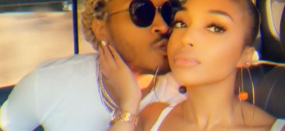 Lori Harvey Unbothered Despite Facing Jail Time For Hit And Run, Cozy In Pool With Boyfriend Future